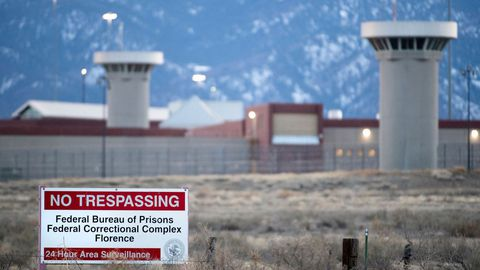 Vista de la prisión de Florence, en Colorado