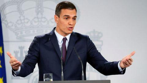 Sánchez arranca desde la Moncloa la campaña para las elecciones del 28 de abril