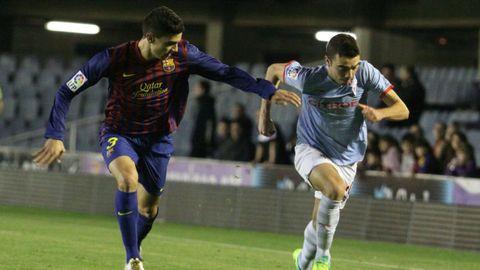 92 - Barcelona B-Celta (2-1) el 26 de noviembre del 2011