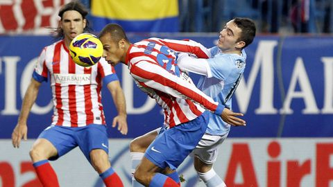135 - Atlético-Celta (1-0) el 21 de diciembre del 2012