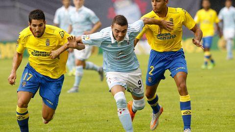 156 - Celta-Las Palmas (3-3) de Primera el 13 de septiembre del 2015