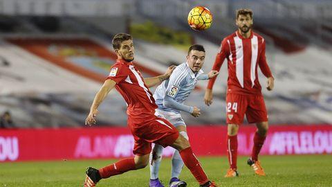 179 - Celta-Sevilla (1-1) de Primera el 7 de febrero del 2016
