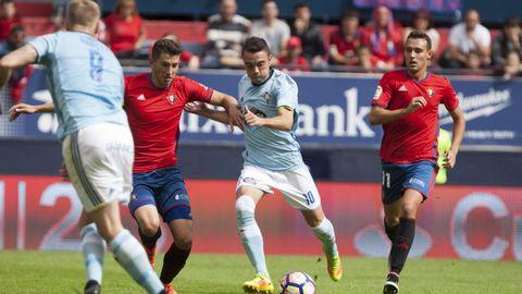 198 - Osasuna-Celta (0-0) de Primera el 18 de septiembre del 2016