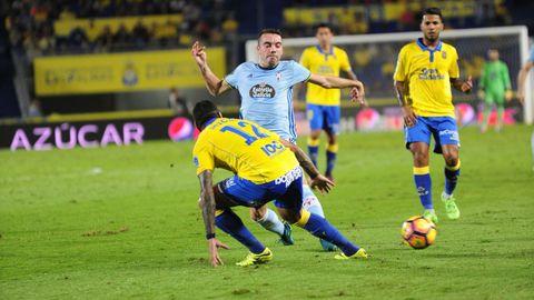 205 - Las Palmas-Celta (3-3) de Primera el 30 e octubre del 2016