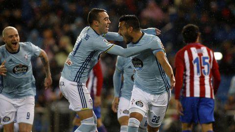 221 - Atlético-Celta (3-2) de Primera el 12 de febrero del 2017
