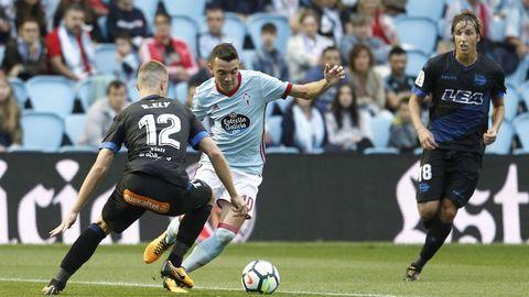 245 - Celta-Alavés (1-0) en Primera el 10 de septiembre del 2017