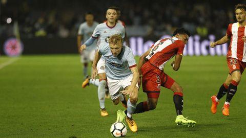 249  - Celta-Girona (3-3) en Primera el 29 de septiembre del 2017