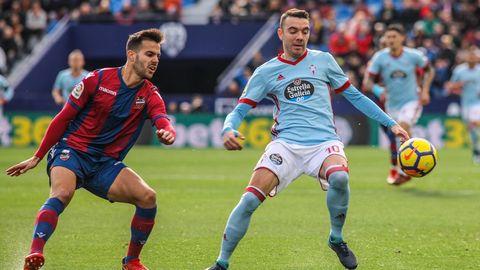 263 - Levante-Celta (0-1) de Primera el 14 de enero del 2018