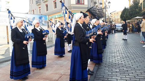 Acto de recogida de apoyos a la candidatura de la sidra como Patrimonio inmaterial de la Humanidad en Oviedo