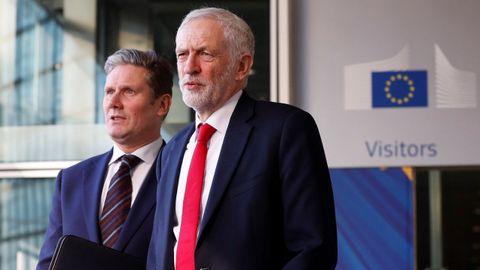 Corbyn y Starmer, en una imagen de archivo