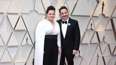 Melissa McCarthy y su marido Ben Falcone