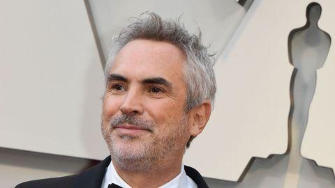 Alfonso Cuaron, director de  Roma , uno de los favoritos de la noche