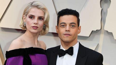Rami Malek y Lucy Boynton