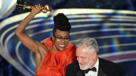 Hannah Beachler celebra el premio al mejor diseño de producción para  Black Panther