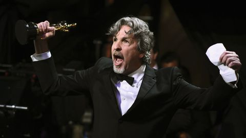 Peter Farrelly celebra el Óscar a Mejor Pelicula de «Green Book»