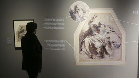 Una obra de Rubens, «Dios padre», aparece ampliada y con explicaciones didácticas
