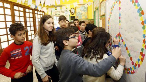 El colegio de O Valadouro tiene este curso 45 alumnos en Infantil y 90 en Primaria