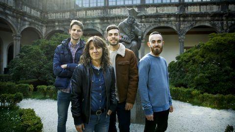 Alejandro Martínez, José Manuel Busto, Sandra Golpe y Manuel Busto han quedado entre los 10 mejores del mir, pir o fir