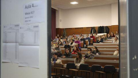 Imagen de las pruebas de acceso mir celebradas en febrero