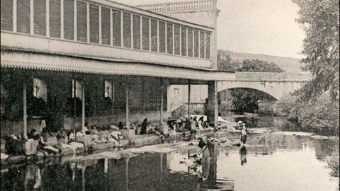 Hasta bien entrada la segunda mitad del siglo XX el lavadero era una instalación muy utilizada