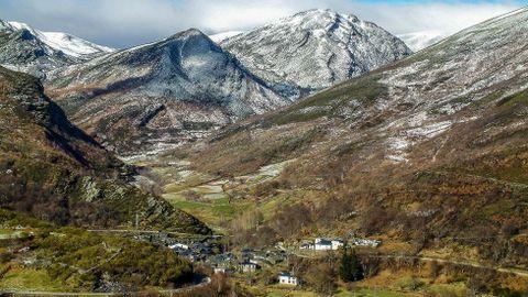 Vistas de la aldea de A Seara