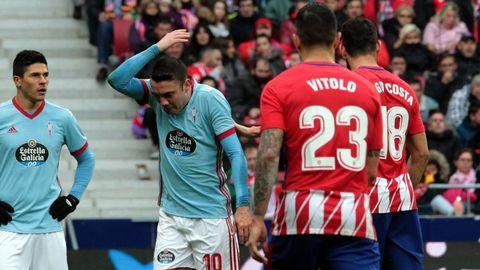 272 - Atlético-Celta (3-0) de Primera el 11 de marzo del 2018
