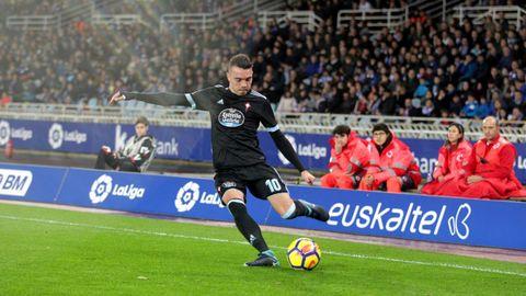 264 - Real Sociedad-Celta (1-2) de Liga el 21 de enero del 2018