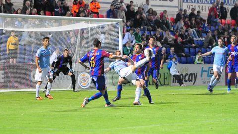 104 - Huesca-Celta (1-1) de Segunda el 24 de marzo del 2012