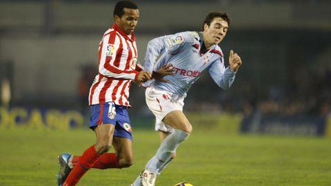 28 - Atlético-Celta (1-1) el 21 de enero del 2010