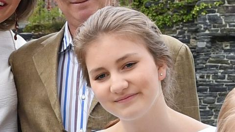 La princesa Isabel de Bélgica en una imagen de archivo