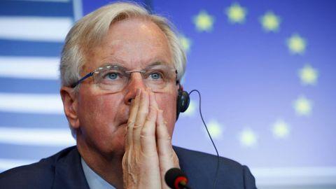El negociador jefe de la Unión Europea para el «brexit», Michel Barnier