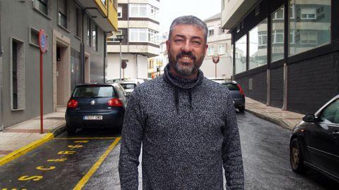 Xesús Mazaira, uno de los propietarios de la quesería Airas Moniz