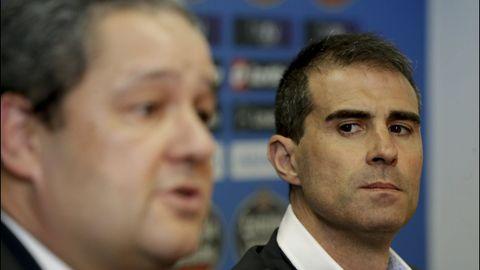 Gaizka Garitano fue el tercer entrenador de Tino Fernández
