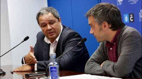 Tino Fernández y Xulio Ferreiro cerraron importantes acuerdos, como la reforma del estadio de Riazor.