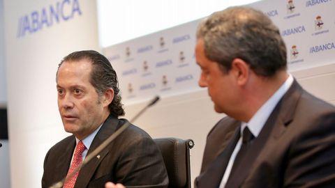 Tino Fernández logró también unacuerdo con Abanca en junio del 2017 para poder refinanciar la deuda del club.