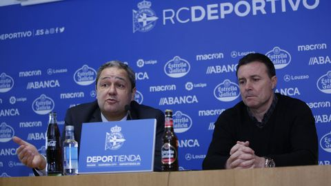 Cristóbal Parralo tomó el relevo de Pepe Mel. Una apuesta de Tino por el entrenador del Fabril más exitoso de los últimos años.