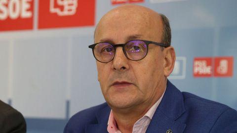 ADOLFO PÉREZ ABELLÁS. Número 2 del PSOE por la provincia de Ourense