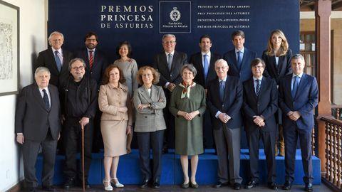 Jurados del premio Princesa de Asturias de Comunicación y Humanidades 2019