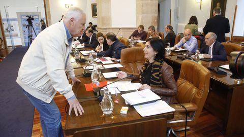 Bronca final en el último pleno de la Diputación de Lugo