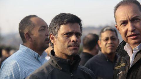 Leopoldo López, en una imagen de archivo