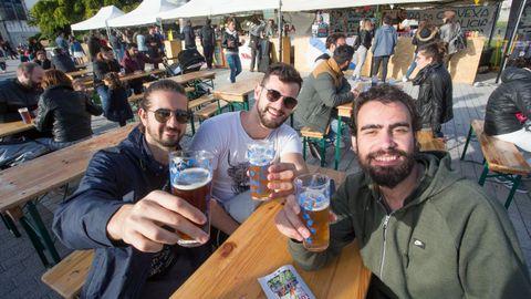 La Horta do Seminario acoge el Arde Lupulus, la feria de cerveza artesana de Lugo