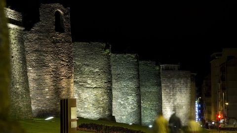 Muralla romana de Lugo, única del mundo que se mantiene en su totalidad