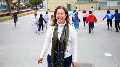 Cristina lleva casi tres décadas dedicada a la docencia