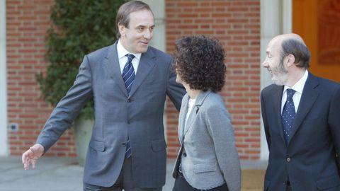 Remodelación ministerial en el 2006 en la que Rubalcaba se convertía en ministro del Interior