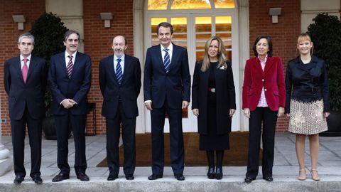 Antes del primero Consejo de Ministros como vicepresidente primero y ministro del Interior