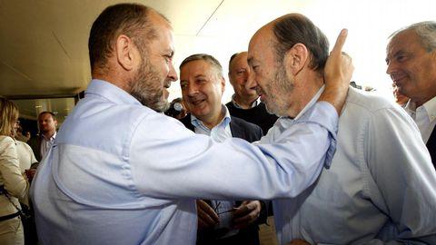 En mayo del 2011 en un encuentro con militantes socialistas en Santiago