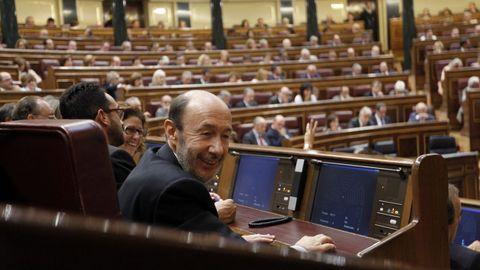 En septiembre del 20011 durante la última sesión de la legislatura antes de las generales del 20-N