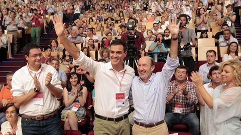 En julio del 2014 con el nuevo secretarioa general del PSOE, Pedro Sánchez