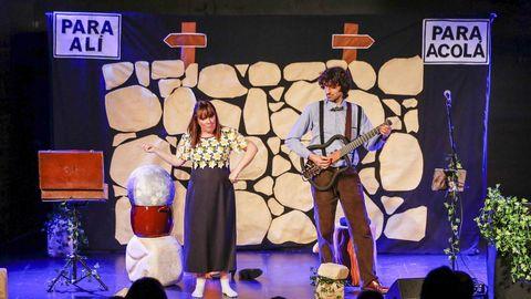 Charo Pita y Xoán Curiel actuarán en la Praza de San Marcos