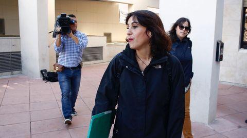 Juana Rivas, en una foto de archivo, está condenada a cinco años de carcel por secuestrar a sus hijos para impedir que su exmarido los viera